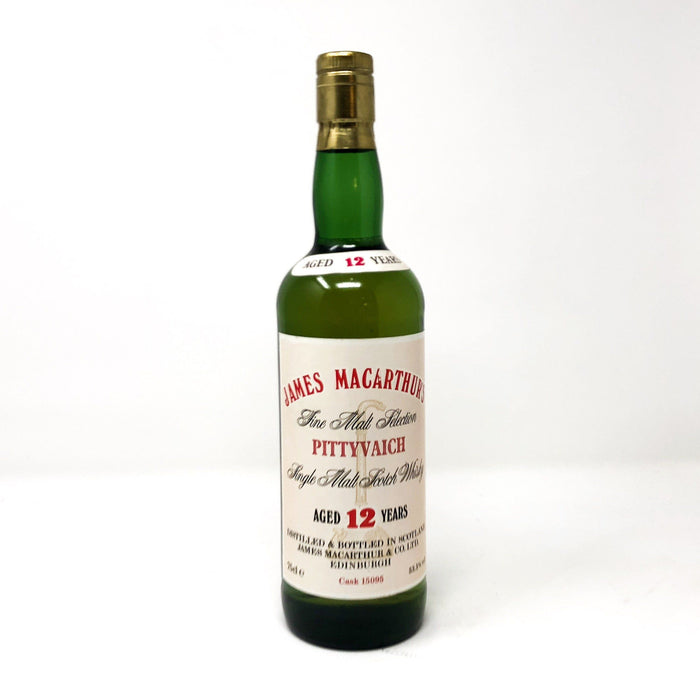 Pittyvaich 12 Year Old James Macarthur's Whisky Old and Rare Whisky