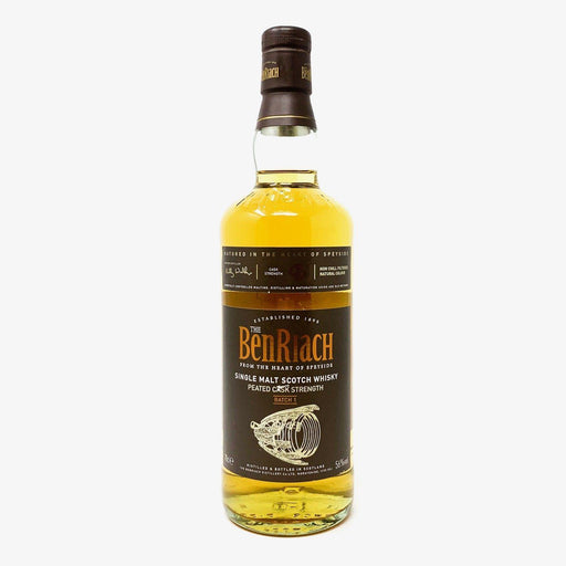 Benriach Peated Cask Strength Batch 1 Whisky Old and Rare Whisky
