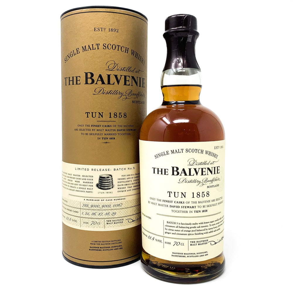 Balvenie Tun 1858 Batch No 5 Whisky Old and Rare Whisky