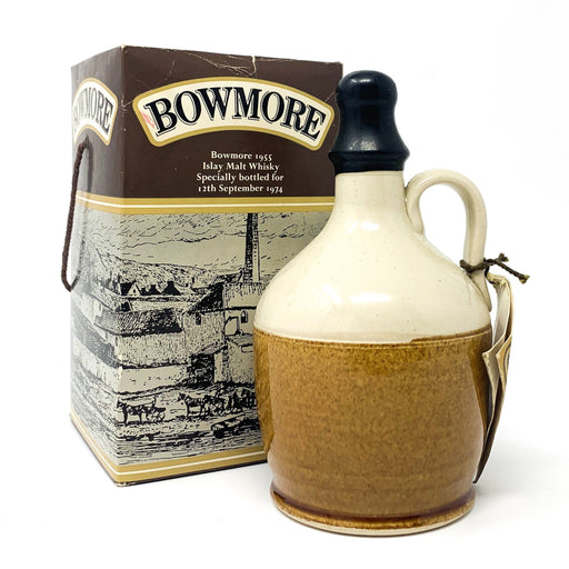 Bowmore 1955 Ceramic Decanter Visitor Centre Whisky Old and Rare Whisky