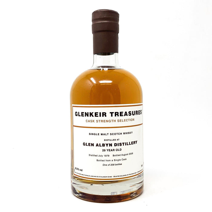 Glen Albyn 29 Year Old Glenkier Treasures 1979 Whisky Old and Rare Whisky