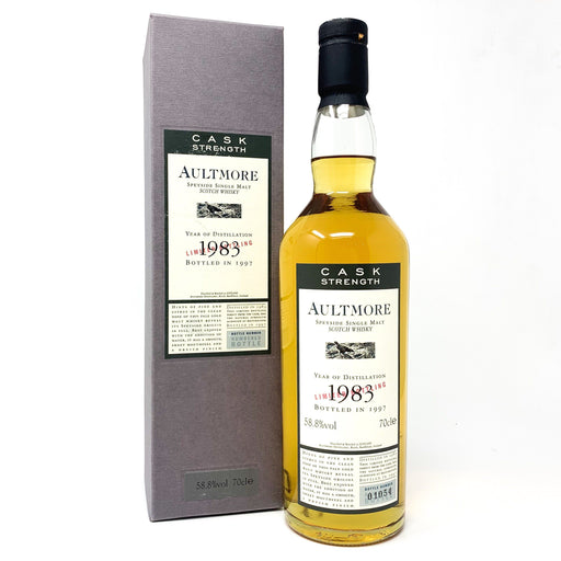 Aultmore 1983 Flora & Fauna Cask Strength 70cl Whisky Old and Rare Whisky