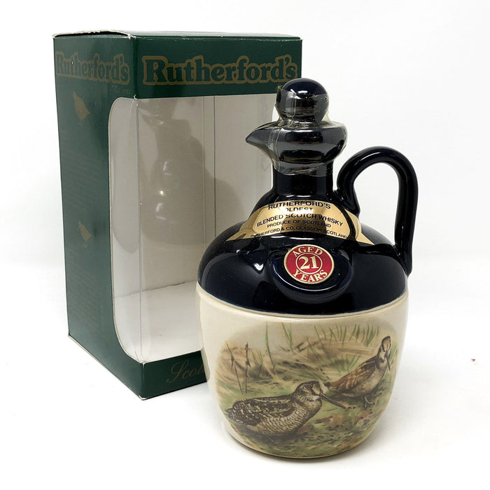 Rutherford's 21 Year Old Oldest Whisky Decanter Whisky Old and Rare Whisky