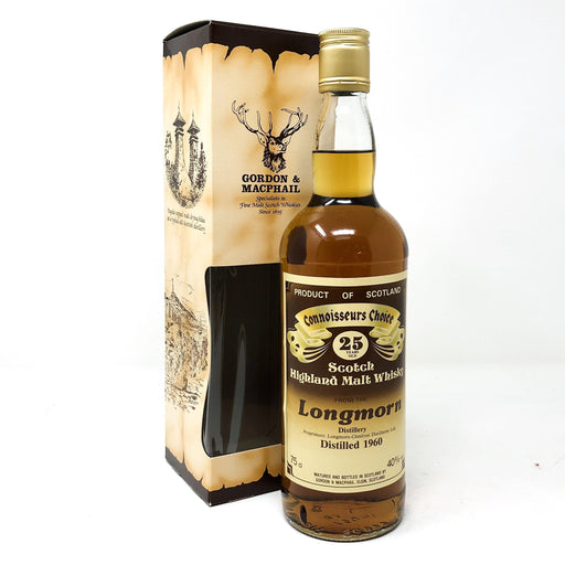 Longmorn 1960 Connoisseurs Choice 25 Year Old Whisky Old and Rare Whisky