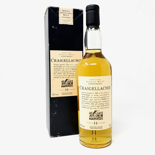 Craigellachie 14 Flora & Fauna Whisky Old and Rare Whisky