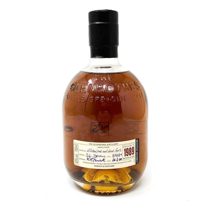 Glenrothes 1989 Single Malt Whisky Whisky Old and Rare Whisky