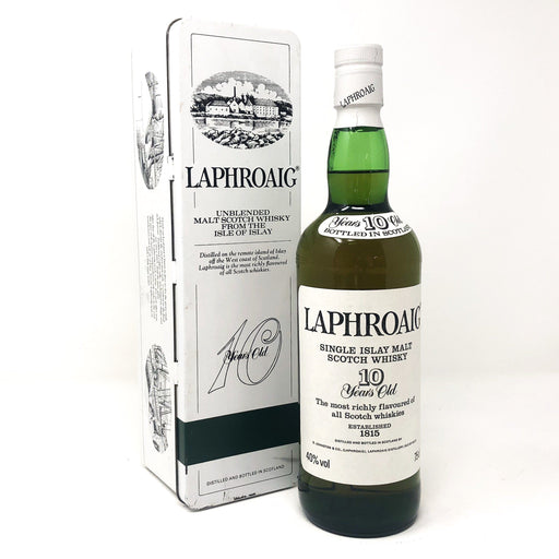 Laphroaig 10 Year Old Pre Royal Warrant Whisky Old and Rare Whisky