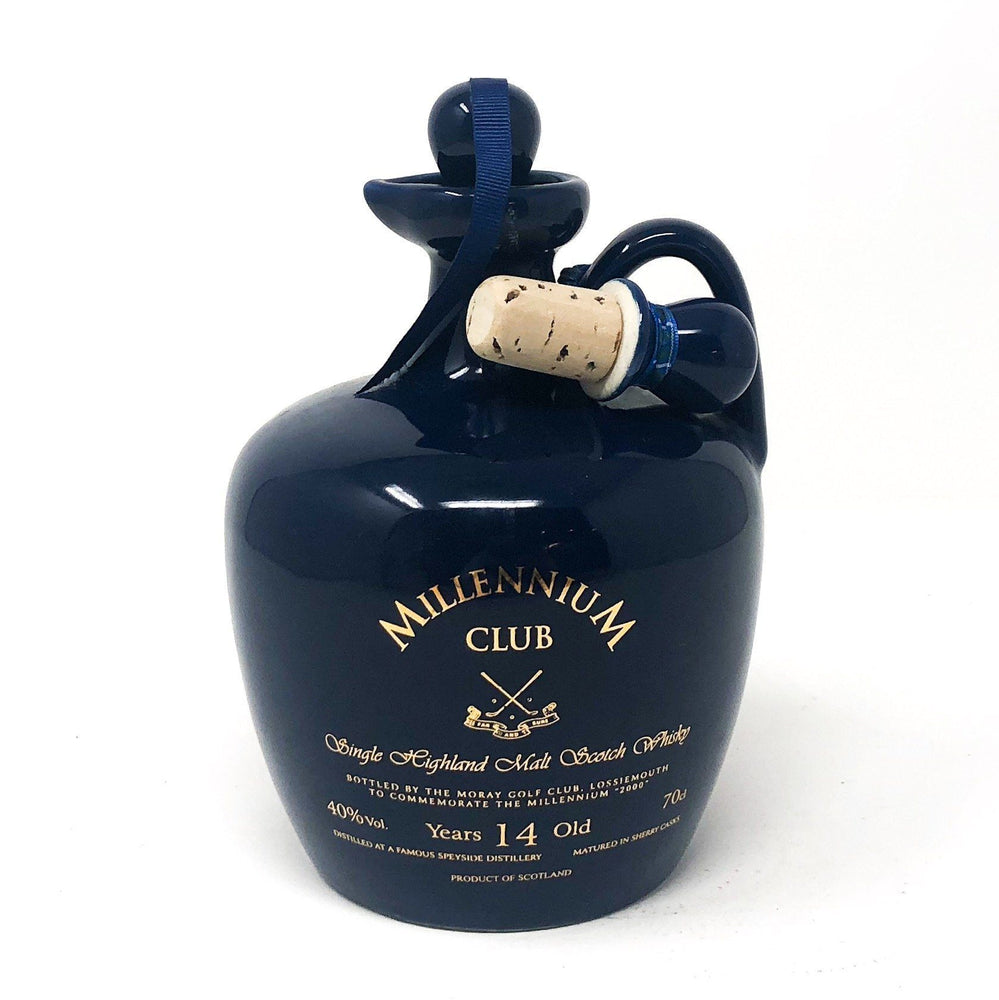 Speyside 14 Year Moray Golf Club Millennium Decanter Whisky Old and Rare Whisky