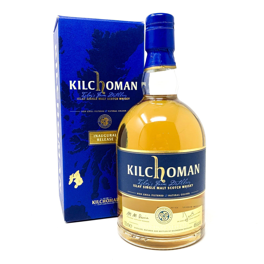 Kilchoman Inaugural Release Whisky Old and Rare Whisky