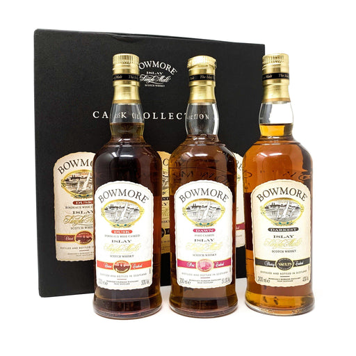Bowmore Cask Collection 3 x 20cl Whisky Old and Rare Whisky