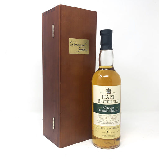Littlemill 21 Year Old Queen's Jubilee Whisky Old and Rare Whisky