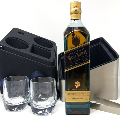 Johnnie Walker Blue Label (Porsche Design Cube) Whisky Old and Rare Whisky