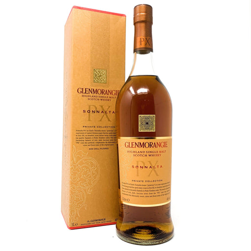 Glenmorangie Sonnalta PX 1 Litre Whisky Old and Rare Whisky