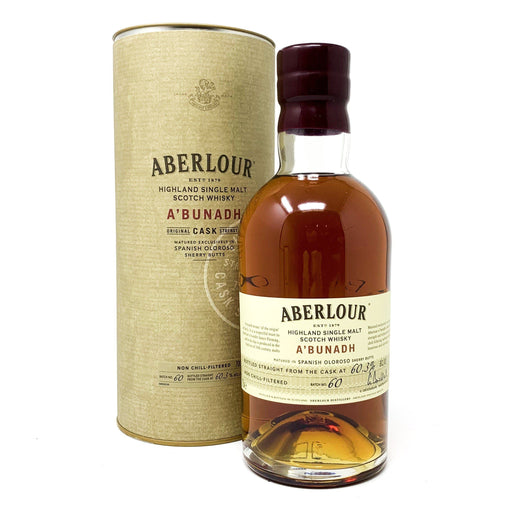 Aberlour A'Bunadh Batch 60 Whisky Old and Rare Whisky