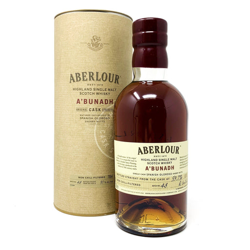 Aberlour A'Bunadh Batch 48 Whisky Old and Rare Whisky