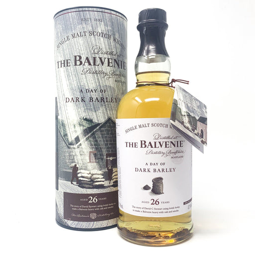 Balvenie 26 Year Old Dark Barley Whisky Old and Rare Whisky