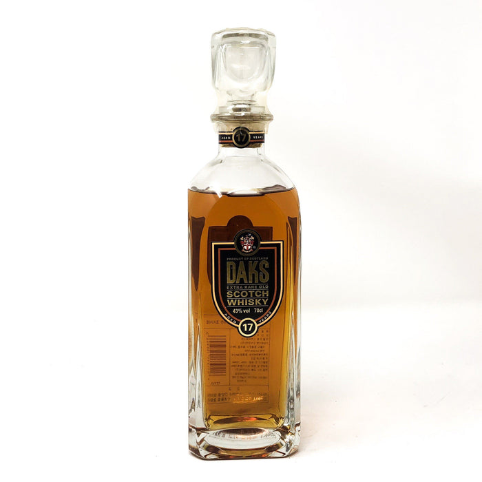 Daks 17 Year Old Extra Rare Old Whisky Whisky Old and Rare Whisky