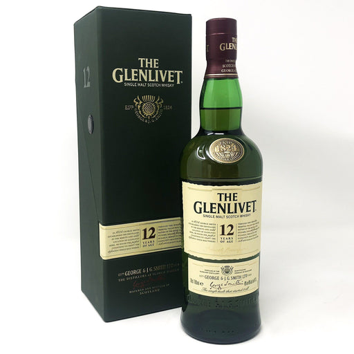 Glenlivet 12 Year Old Old and Rare Whisky