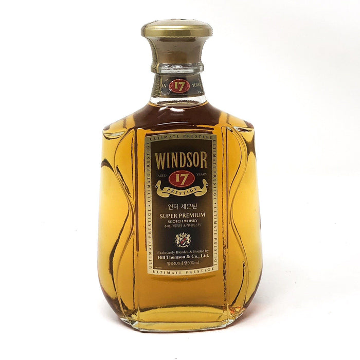 Windsor 17 Year Old Prestige Whisky Old and Rare Whisky
