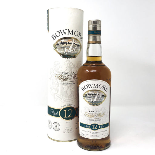 Bowmore 12 Year Old 1 Litre Whisky Old and Rare Whisky