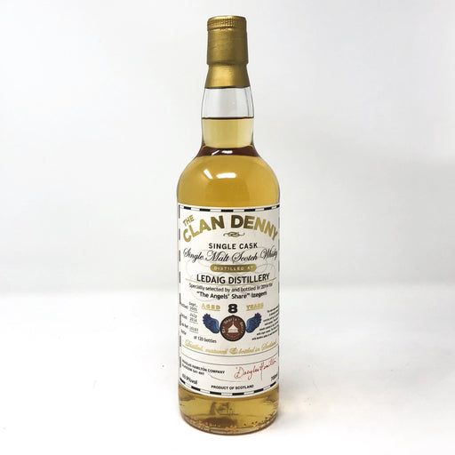 Ledaig 8 Year Old Clan Denny Whisky Old and Rare Whisky