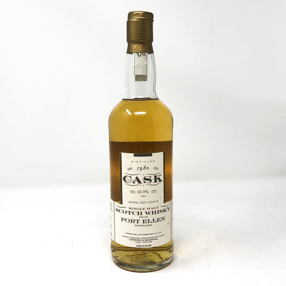 Port Ellen 1980 Cask Strength 63.9% Whisky Old and Rare Whisky