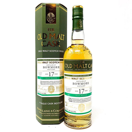 Bowmore 17 Year Old - Old Malt Cask Whisky Old and Rare Whisky