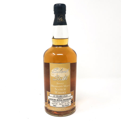 Glenury Royal 25 Year Old Silent Stills 1973 Whisky Old and Rare Whisky