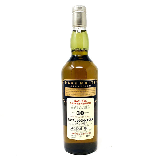 Royal Lochnagar 30 Year Old Rare Malts 1974 Whisky Old and Rare Whisky
