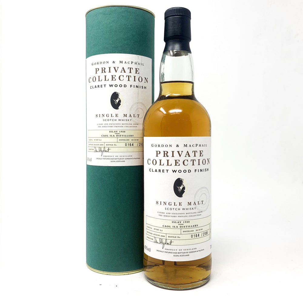 Caol Ila 1988 Gordon & Macphail Private Collection Whisky Old and Rare Whisky