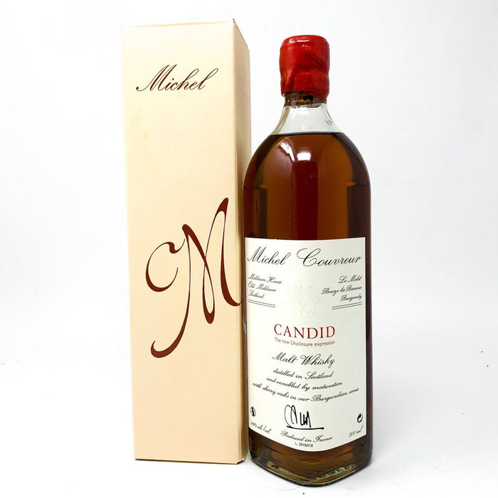 Michel Couvreur Candid Blended Malt Whisky 70cl Whisky Old and Rare Whisky