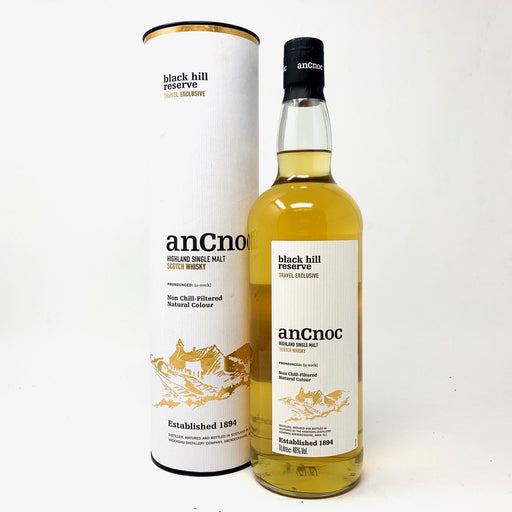 AncNoc Black Hill Reserve 1 Litre Whisky Old and Rare Whisky