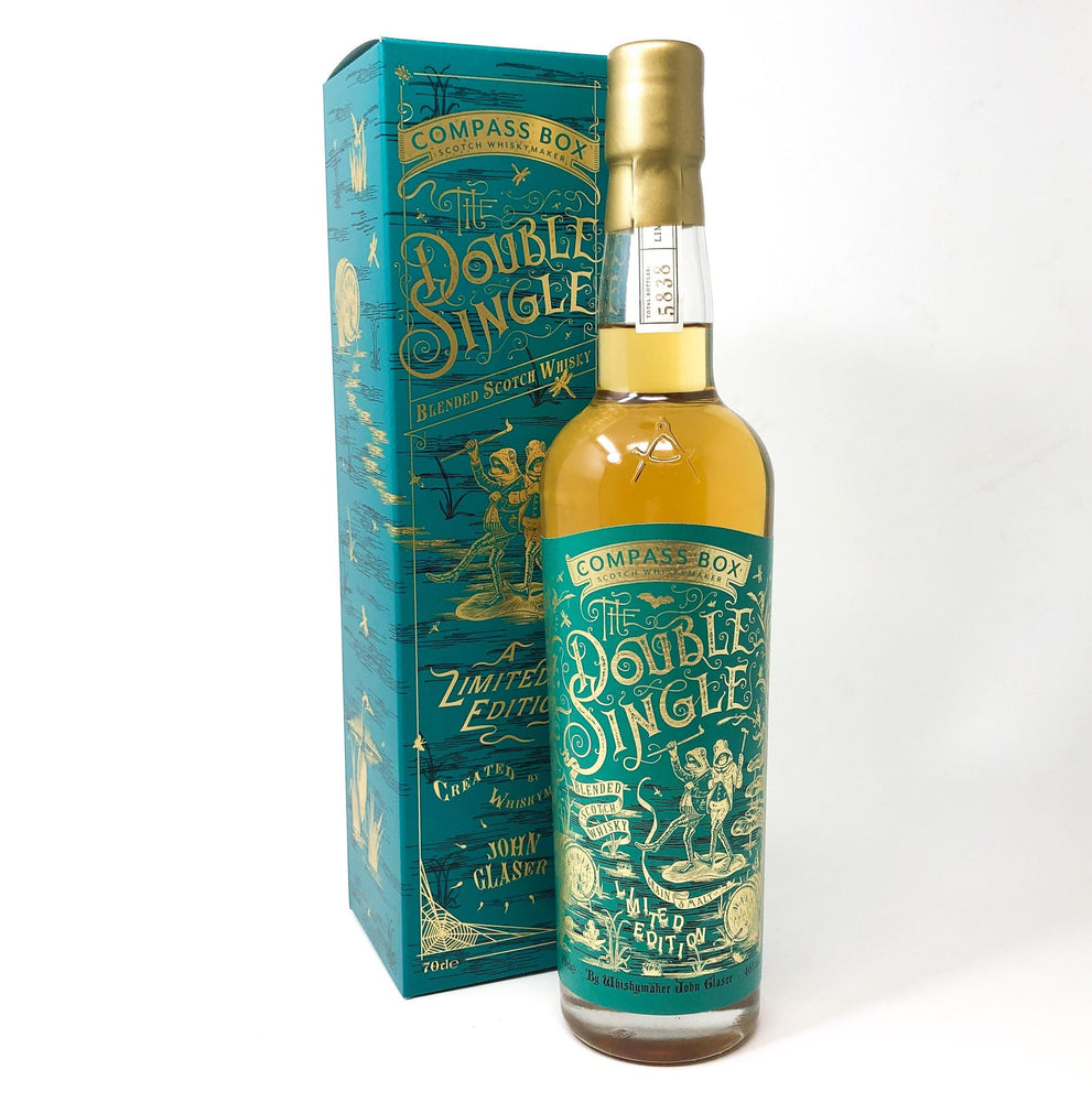 Compass Box Double Single Blended Whisky Whisky Old and Rare Whisky