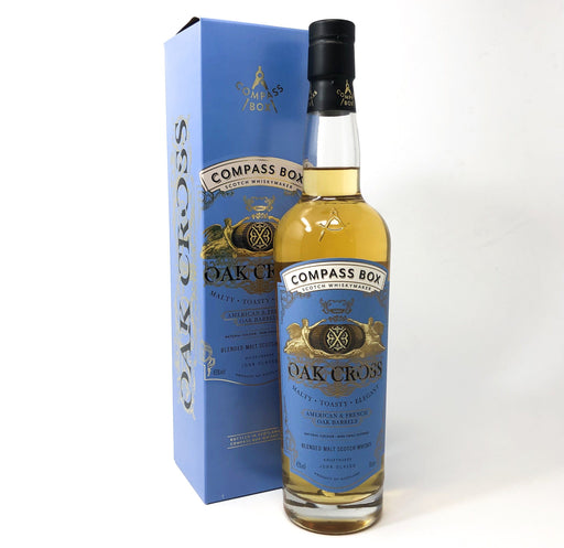 Compass Box Oak Cross 70cl Whisky Old and Rare Whisky