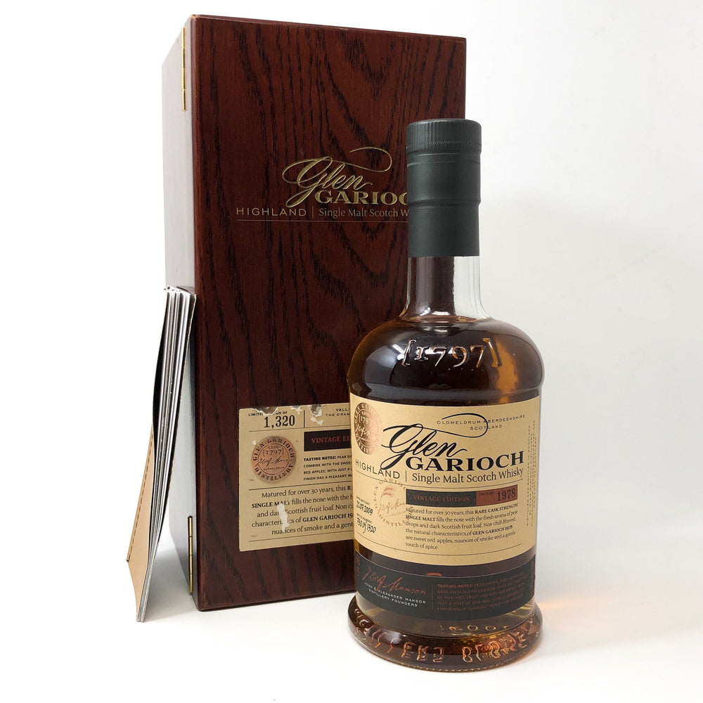 Glengarioch 1978 Single Malt 30 Year Old Whisky Old and Rare Whisky