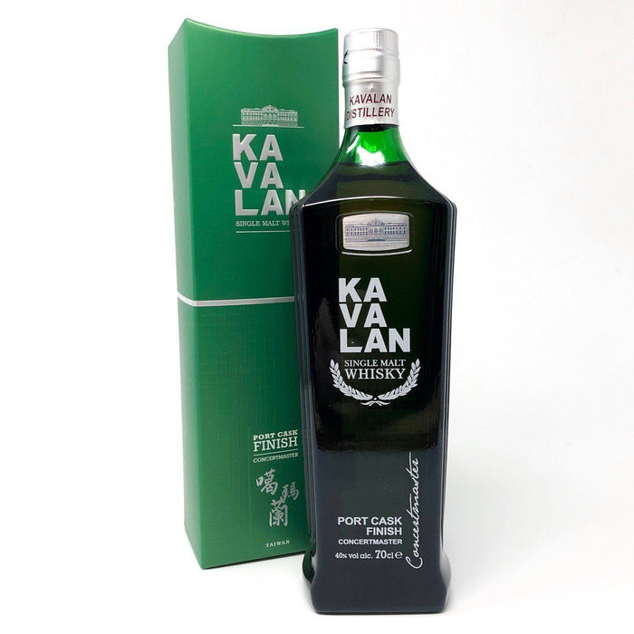 Kavalan Concertmaster Port Cask Single Malt Whisky Whisky Old and Rare Whisky