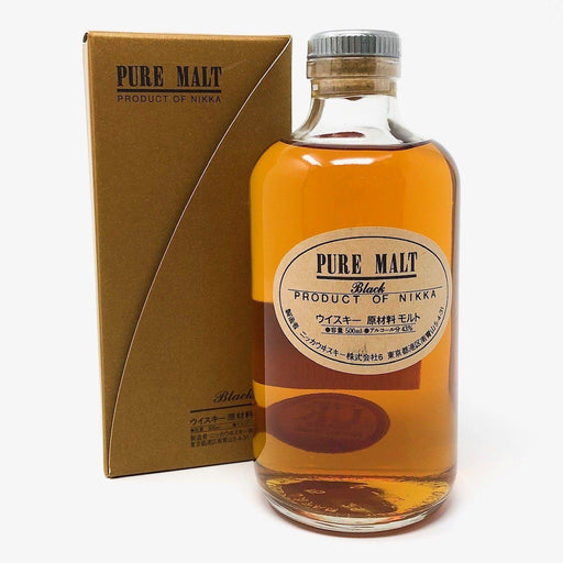 Nikka Pure Malt Black 50cl Whisky Old and Rare Whisky