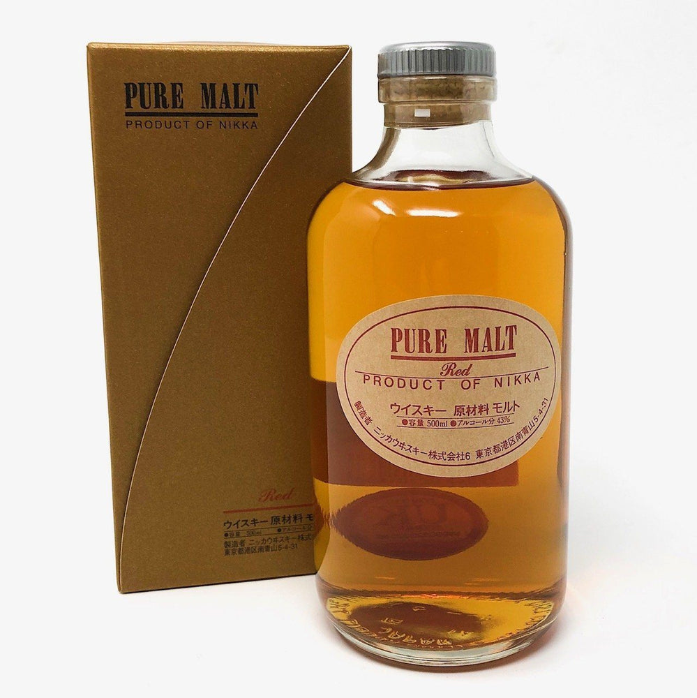 Nikka Pure Malt Red Whisky Old and Rare Whisky