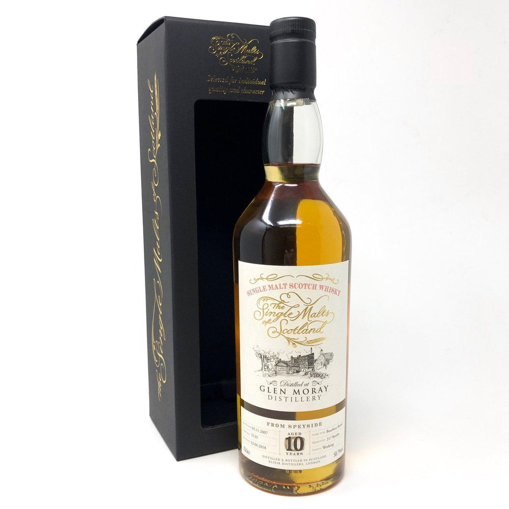 Glen Moray 10 Year Old Single Malts of Scotland Whisky Old and Rare Whisky