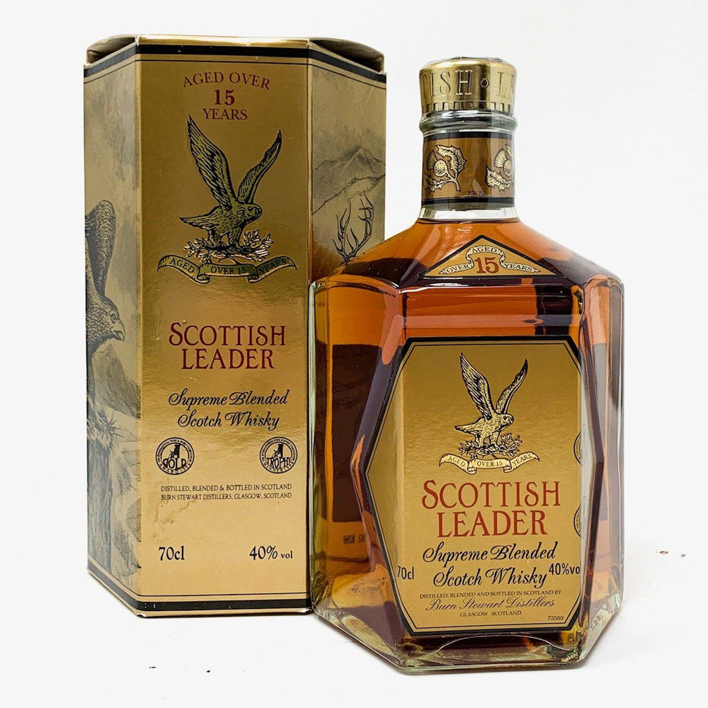 Scottish Leader 15 Year Old Blended Whisky Old and Rare Whisky