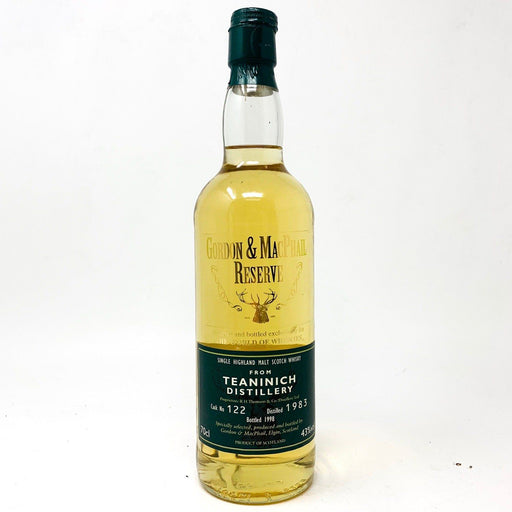 Teaninich 1983 Single Cask Bottled 1998 G&M Whisky Old and Rare Whisky