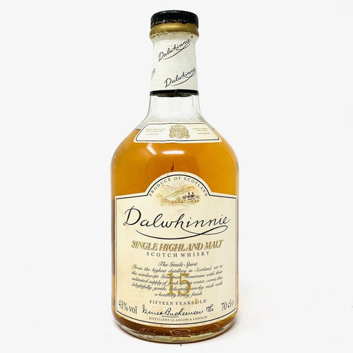 Dalwhinnie 15 Year Old 1980s Old and Rare Whisky
