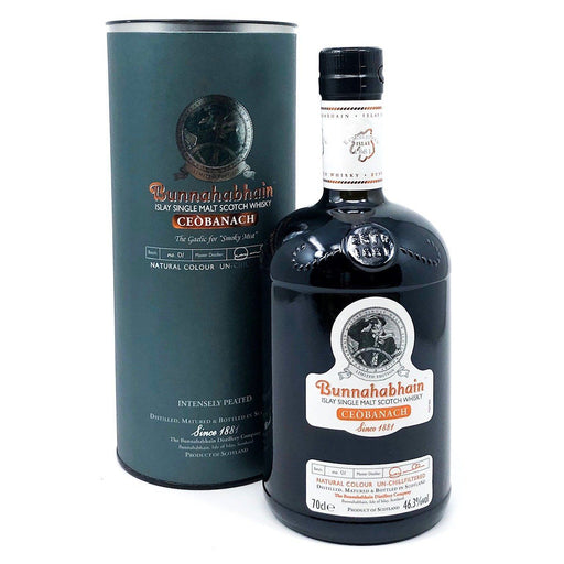 Bunnahabhain Ceòbanach Limited Edition Whisky Old and Rare Whisky