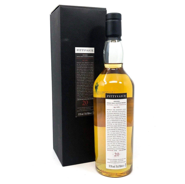Pittyvaich 20 Year Old 1989 Whisky Old and Rare Whisky