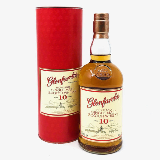 Glenfarclas 10 Year Old Whisky Old and Rare Whisky