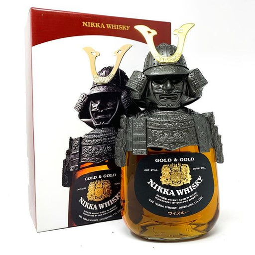 Nikka Gold & Gold Samurai Japanese Whisky Whisky Old and Rare Whisky