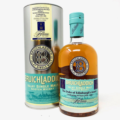 Bruichladdich 15 Year Old Limited Edition Duke of Edinburgh Award Whisky Old and Rare Whisky
