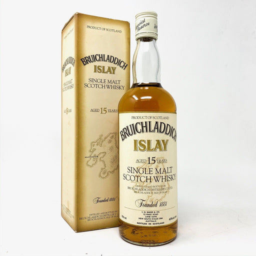 Bruichladdich 15 Year Old (Old Style) Whisky Old and Rare Whisky