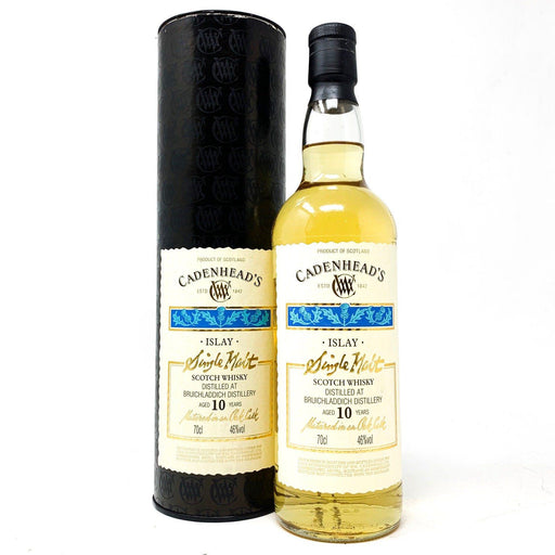 Bruichladdich 10 Year Old Cadenhead's Whisky Old and Rare Whisky