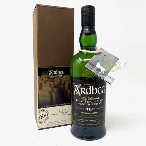 Ardbeg Committee Millennium Cask 2000 Whisky Old and Rare Whisky